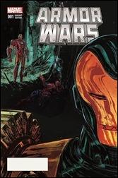 Armor Wars #1 Cover - Del Rey Variant