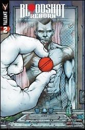 Bloodshot Reborn #2 Cover - Lee Variant