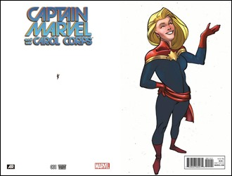 Captain Marvel And The Carol Corps #1 Cover - Ant-Sized Variant