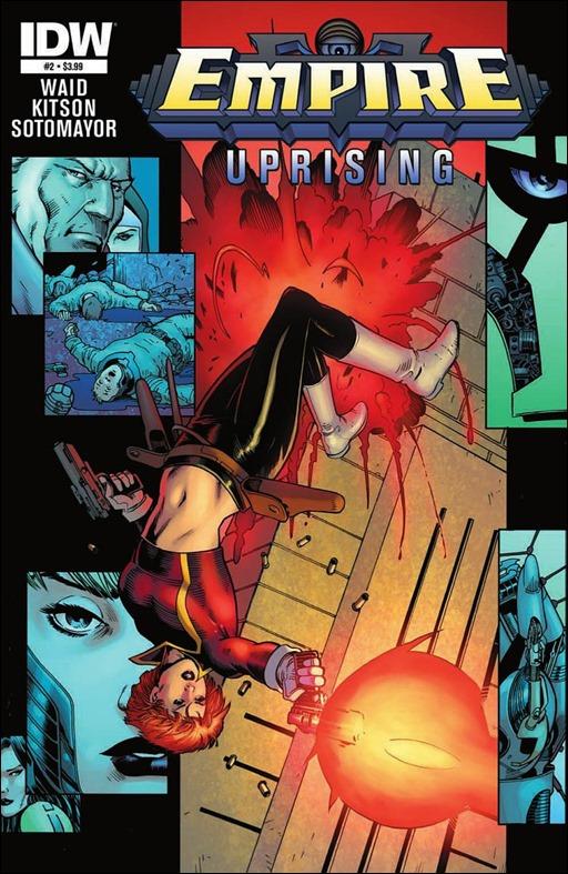 Empire: Uprising #2 Cover