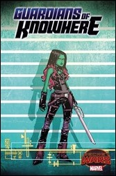 Guardians of Knowhere #1 Cover - Young Connecting Variant A