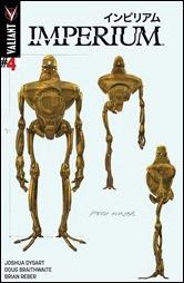 Imperium #4 Cover - Braithwaite Design Variant