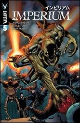 Imperium #5 Cover - Gill Variant