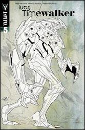 Ivar, Timewalker #5 Cover  - Henry Design Variant