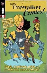Ivar, Timewalker #5 Cover  - Gill Golden Age Variant