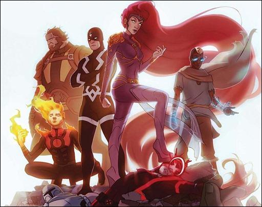 Inhumans: Attilan Rising #1
