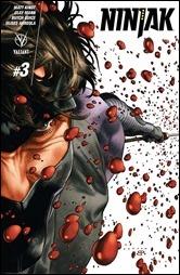 Ninjak #3 Cover A - LaRosa