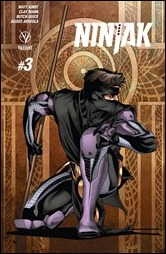 Ninjak #3 Cover - Sandoval Variant