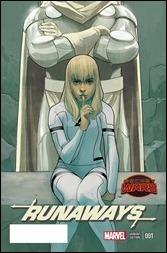 Runaways #1 Cover - Noto Variant