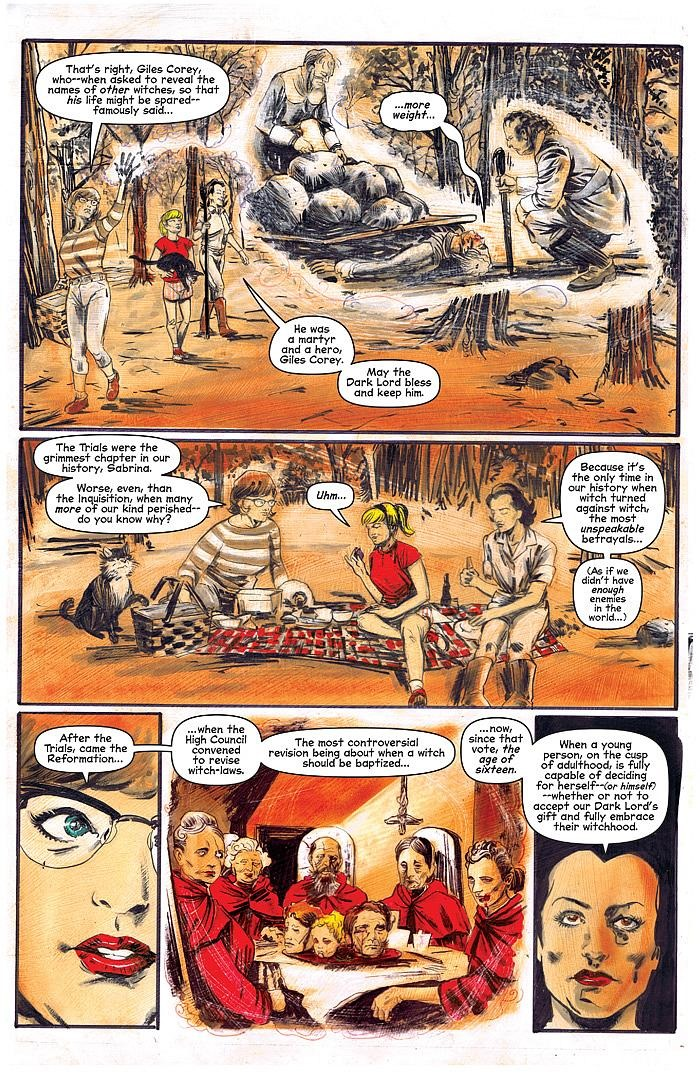 First Look Chilling Adventures Of Sabrina 3 Archie