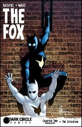The Fox #2 Cover - Chaykin Variant