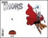 Thors #1 Cover - Renaud Variant