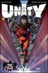 Unity #18 Cover - Sandoval Variant