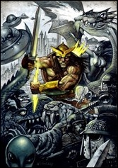 Weirdworld #1 Cover - Bisley Variant