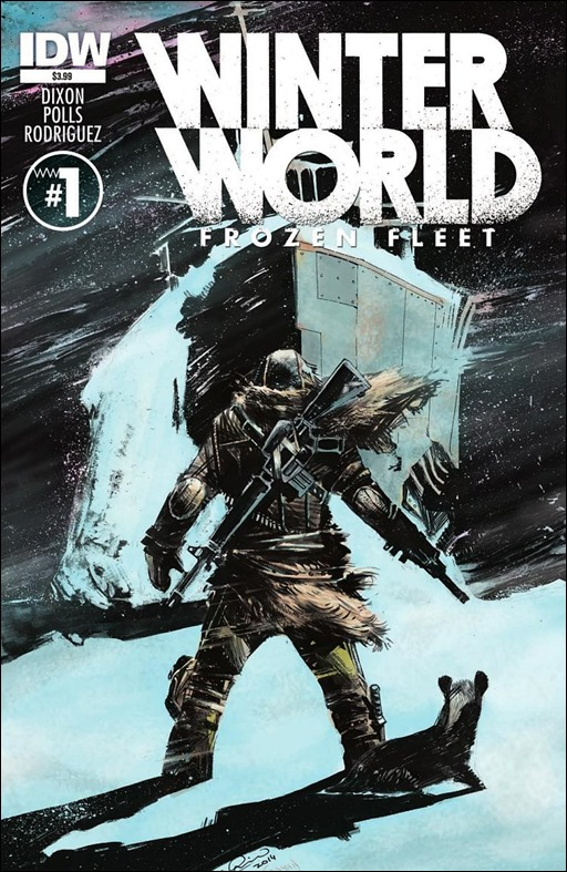 Winterworld: Frozen Fleet #1 Cover