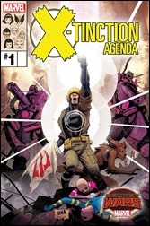 X-Tinction Agenda #1 Cover