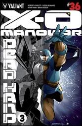 X-O Manowar #36 Cover A - Sandoval
