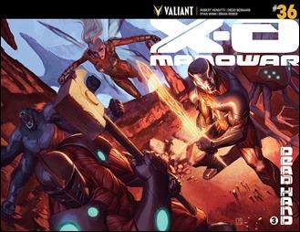 X-O Manowar #36 Cover B - Molina