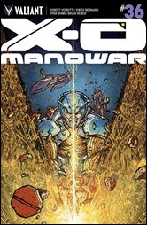 X-O Manowar #36 Cover - Lee Variant