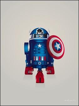 R2-D2 Captain America