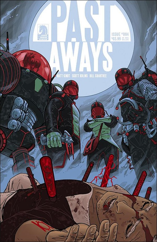 Past Aways #4 Cover