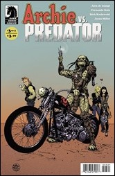 Archie Vs. Predator #3 Cover - Pope Variant