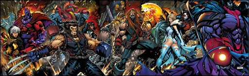 Age of Apocalypse #1 Cover - Sandoval Gatefold Variant