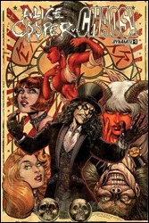 Alice Cooper vs. Chaos! #1 Cover