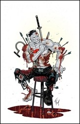 Book of Death: The Fall of Bloodshot #1 Cover - Fowler Variant