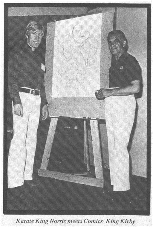Chuck Norris & Jack Kirby