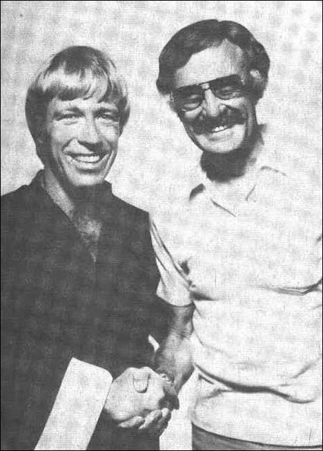 Chuck Norris & Stan Lee