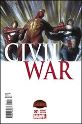Civil War #1 Cover - Granov Variant