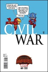 Civil War #1 Cover - Young Variant