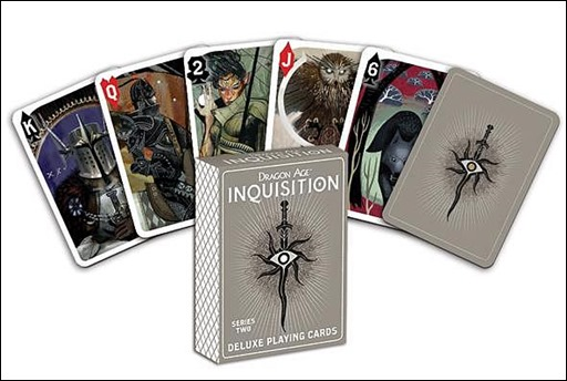 Dragon Age: Inquisition Deluxe Playing Cards - Series Two - Convention Exclusive