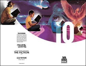 The Fiction #1 Cover B - 10 Years
