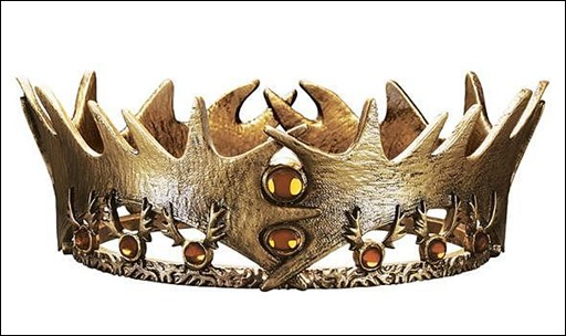 Games of Thrones: Robert Baratheon Crown - SDCC Exclusive Mini Replica