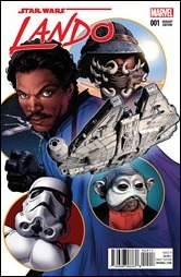 Lando #1 Cover - Land Variant