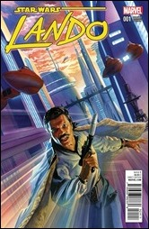 Lando #1 Cover - Ross Variant