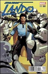Lando #1 Cover - Yu Variant