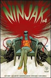 Ninjak #4 Cover B - Johnson