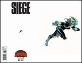 Siege #1 Cover - Bengal Ant-Sized Variant