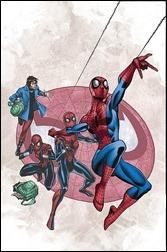 Spider-Island #1 Cover - Frenz Variant