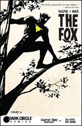 The Fox #3 Cover - Samnee Variant
