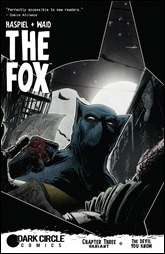 The Fox #3 Cover - T.Rex Variant