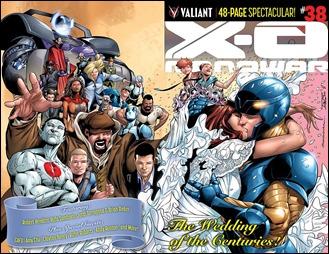 X-O Manowar #38 Cover A - Sandoval