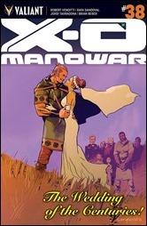 X-O Manowar #38 Cover B - Nord