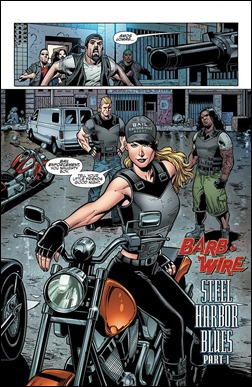 Barb Wire #1 Preview 2