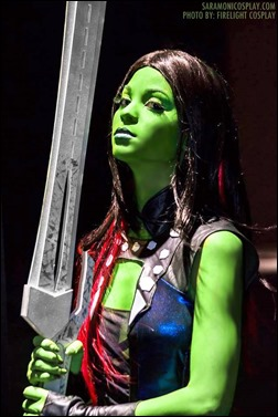 Sara Moni as Gamora (Photo by Firelight Cosplay)