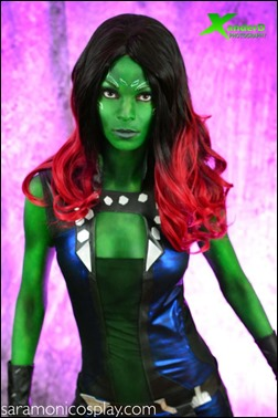 Sara Moni as Gamora (Photo by Xander D. Cosplay)