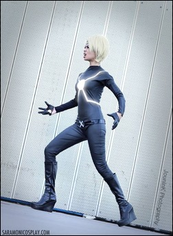 Sara Moni as Lady Havok (Photo by JouninK Cosplay)